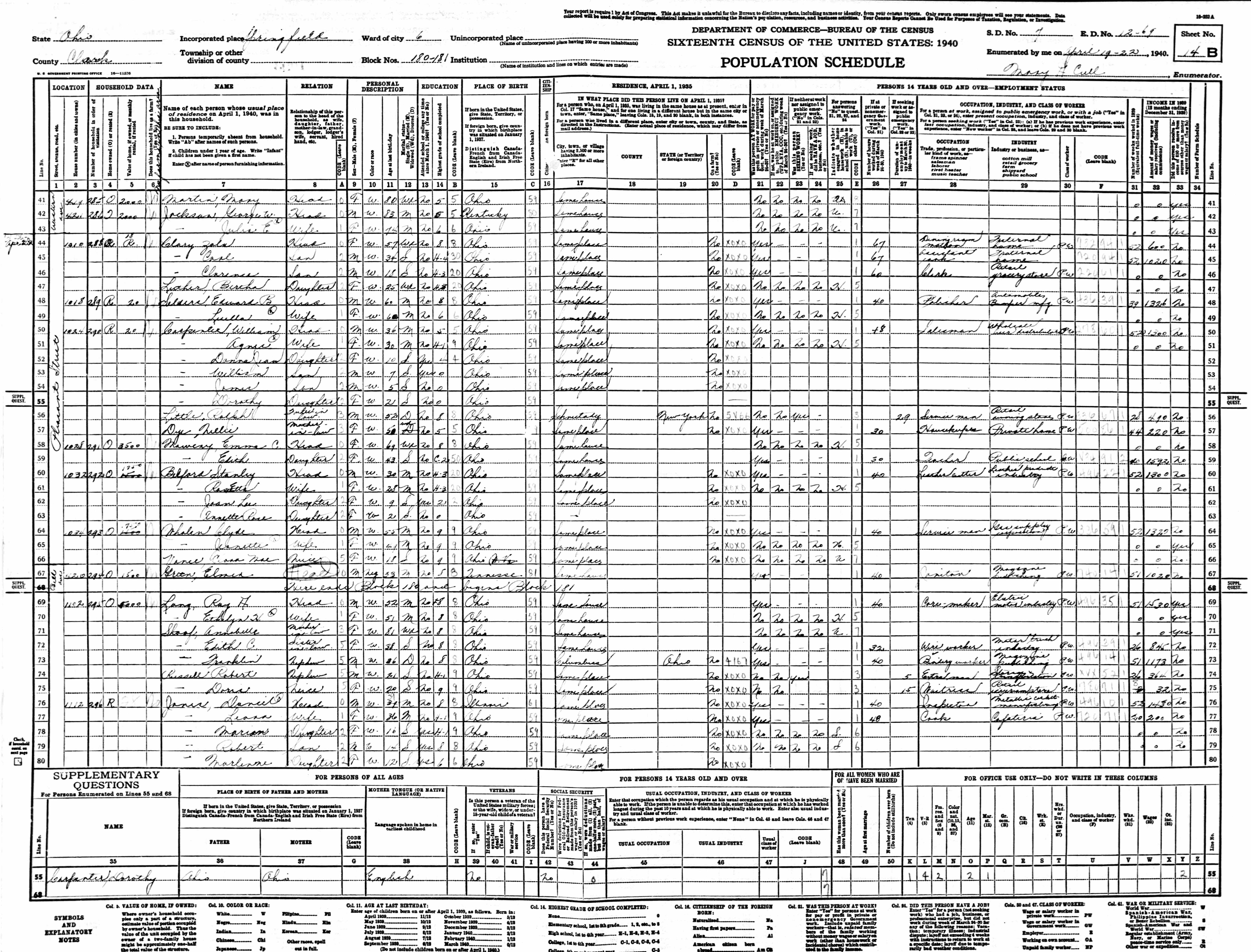 William F Bloor Marriages And Children - Us census bureau ohio counties