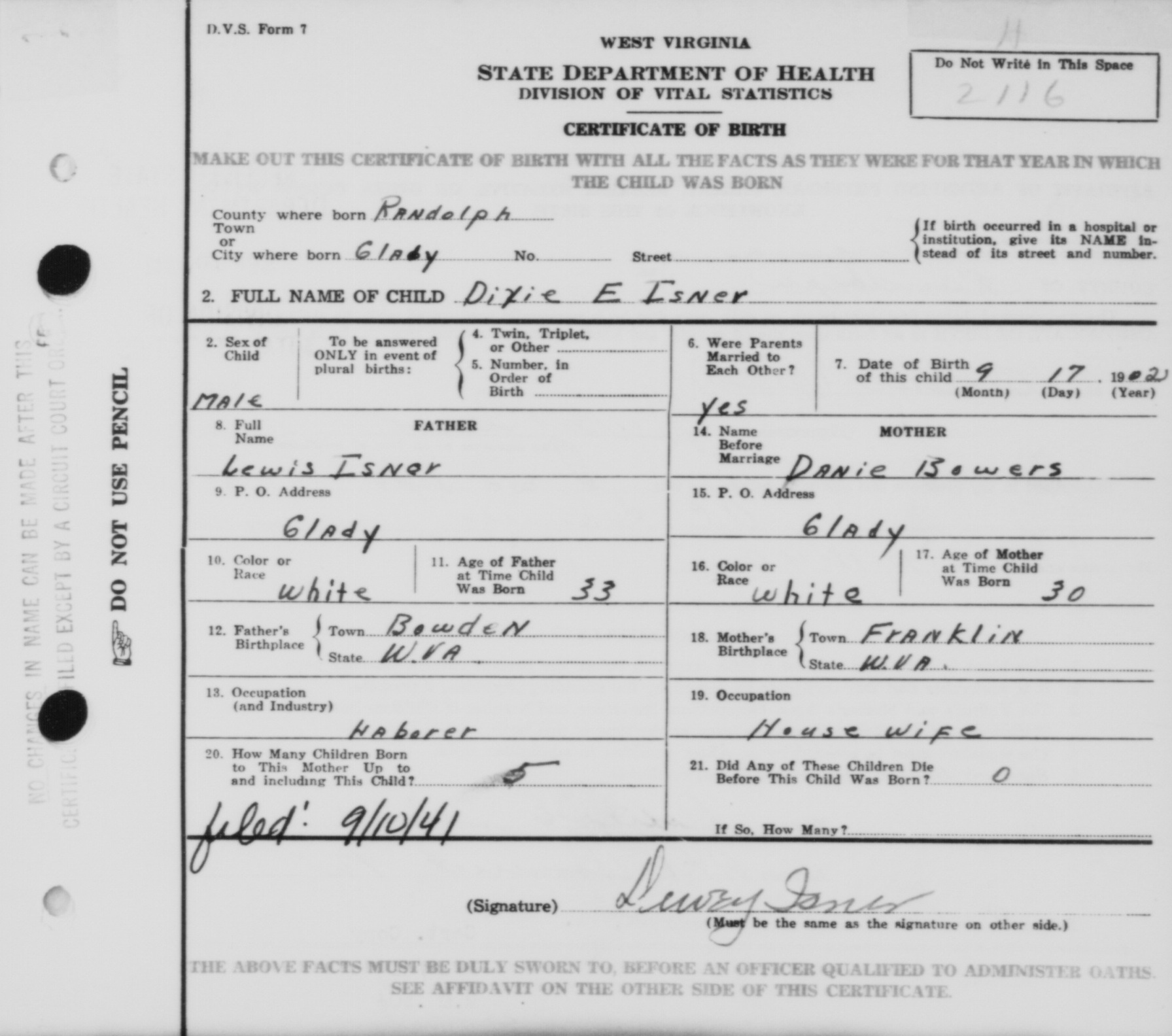 Jefferson isner marriages and children lewis isner birth certificate for dixie e isner xflitez Images