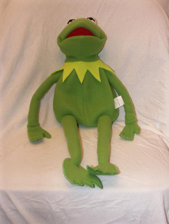 Amazon.com: Kermit The Frog Photo Puppet Replica: Toys & Games